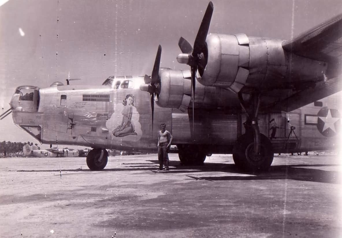 B 24 Liberator Nose Art Consolidated B-24 Libe...